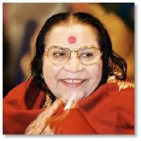 Shri Mataji clapping hands